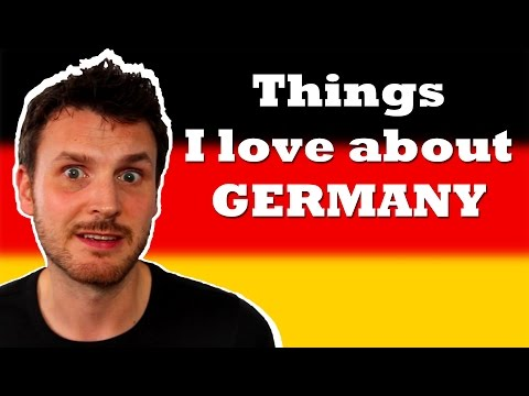 Things I love about Germany