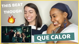 Major Lazer   Que Calor (feat. J.Balvin & El Alfa) [REACTION]