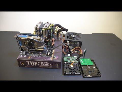 Huan 花兩千五組一台可以剪輯的電腦 !!