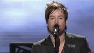 American Idol - David Cook - I'm Alive