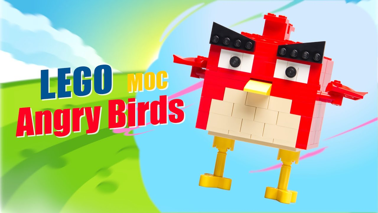 Angry Birds Red | LEGO MOC