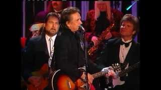 Johnny Cash Performs 'Big River' At Rock & Roll Hall of Fame 1992 Induction thumbnail