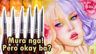 Detail Paint Brush Set Review | Murang Brush | Tagalog Philippines