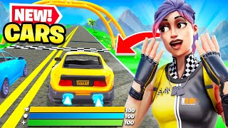 *NEW* CARS UPDATE coming to Fortnite! (WHEN CAN WE DRIVE?)