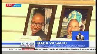 Ndugu, jamaa, marafiki na waliofanya kazi wa hoteli ya dusit D2 walikusanyika Consolata Shrine