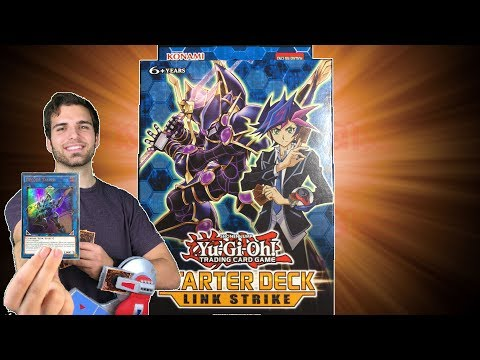 EPIC YuGiOh Link Strike Starter Deck Opening & Review! A New Era Begins!!