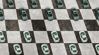 Шашки на дороге или движение в потоке? Кто быстрее?
