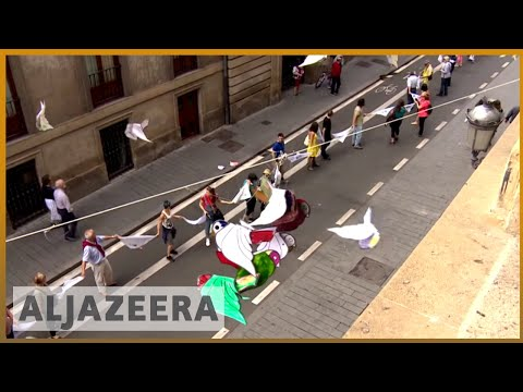 🇪🇸 Nearly 200,000 protest for Basque right to secede from Spain | Al Jazeera English