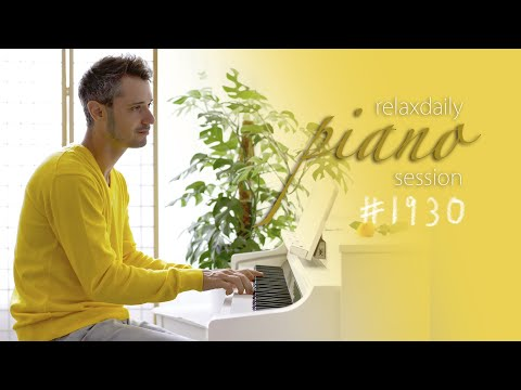 Light Piano Music for concentration and stress relief - peaceful, positive, soft music [#1930]
