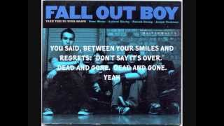 Fall Out Boy - Calm Before The Storm Lyrics