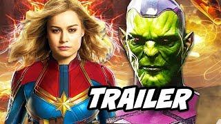 Captain Marvel Trailer Teaser Explained