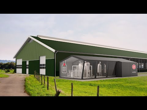 Lely Orbiter - мини-завод по переработке молока прямо на ферме