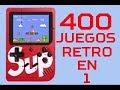 La Mejor Consola Retro Con 400 Juegos En 1 Unboxing Y R