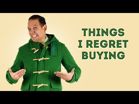 20 Things I Regret Buying - Tips on Buyer's Remorse & Money Management