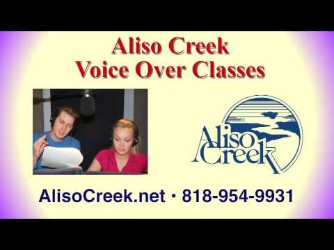 Voice Over Classes for Commercials, Narration and Animation Jobs