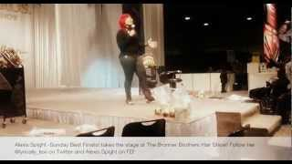 Alexis Spight (Imagine Me) Sunday Best Finalist at Bronner Brothers Hair Show 2013
