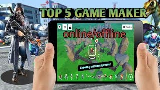 How To Make 3d Game On Android Without Coding | How To develope 3d Game On Android programing