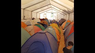Greece has quarantined a second refugee camp