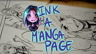 ♣ Speedpaint ♣ Drawing Manga Page - G Pen [#001]