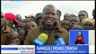 Three people confirmed dead in a greasy road accident in Nangili