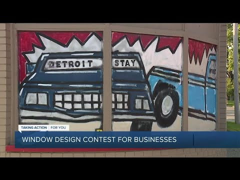 Window design contest puts focus on artists during COVID-19