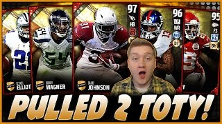 PULLED 2 TOTY PLAYERS!! | INSANE NEW TOTY PLAYERS!! | MUT 17 PACK OPENING