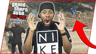 FAMOUS YOUTUBER JOHNNY GETS CHARGED WITH WOMAN BEATING! - GTA Online Heist Gameplay