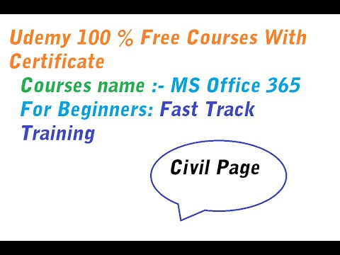 free online ms office course with certificate   Hindi - YouTube