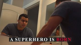 A Superhero is Born - David Lopez