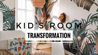 Kids Room Transformation | Ad (Gifted Items)