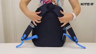 """Рюкзак подростковый Kite Junior K18-807M от компании Интернет-магазин """"Радуга"""" - школьные рюкзаки, канцтовары, творчество - видео"""