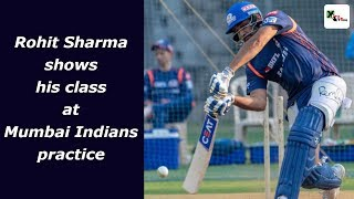 Watch: Beware of 'Hitman' ! Rohit Sharma shows his class at MI practice