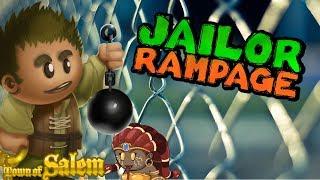 JAILOR RAMPAGE | Town Of Salem Coven Ranked Practice Jailor Game