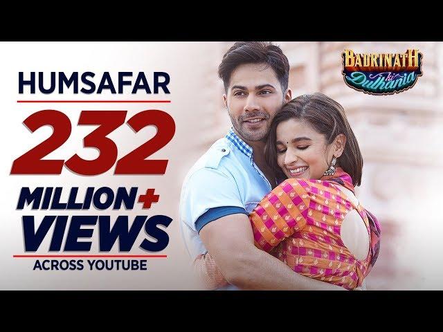 Humsafar Video Song | Badrinath Ki Dulhania Movie Songs | Varun, Alia Bhatt