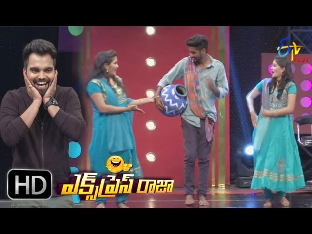 Express Raja – 7th March 2017 – Full Episode | ETV Plus Game Show