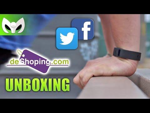 UNBOXING #SportBand Pulsera monitor (DeShoping.com)