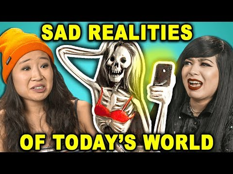 10 Controversial Photos Of Sad Realities In Today's World | The 10s (React) (видео)