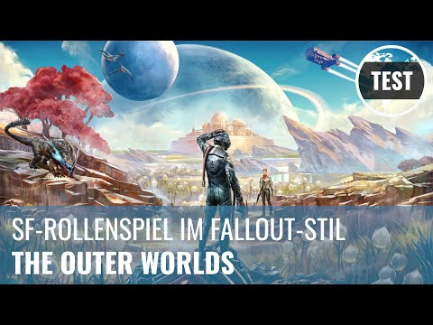 The Outer Worlds im Test: Science-Fiction-Rollenspiel im Fallout-Stil (Review, German)