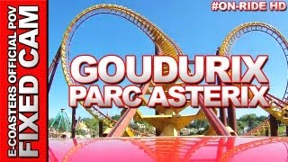 preview picture of video 'Goudurix - Parc Asterix | On-Ride (ECam HD)'
