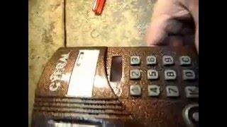 Сброс на заводские настройки домофона Cyfral CCD-20