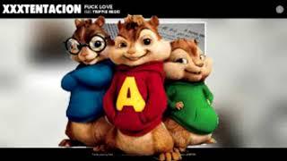 XXXTentancion - Fuck love ft Triple redd [chipmunk version] {Aristos}