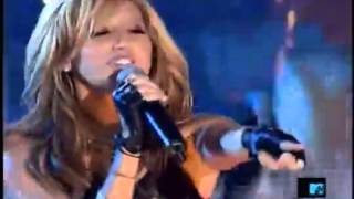 "Ashley Tisdale ""He Said She Said"" live on TRL"