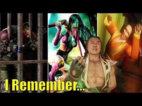 Shang Tsung Remembering 11 Past Events - MORTAL KOMBAT 11