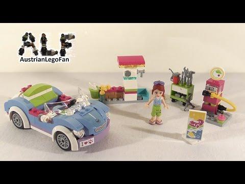 Vidéo LEGO Friends 41091 : La décapotable de Mia