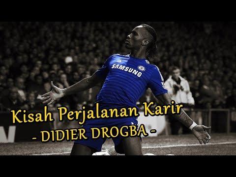 """""""Kisah perjalanan karir sang raja Chelsea Didier Drogba"""""""
