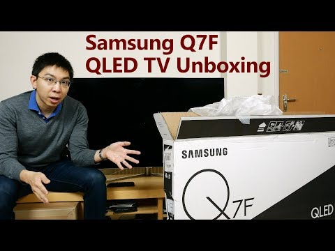 "Samsung 49"" Q7F QLED TV Unboxing + Picture Settings"