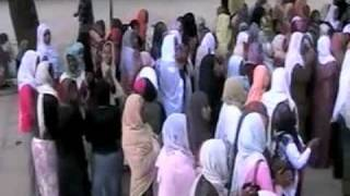 Ethiopian Muslims In Devotion Performing Menzuma (Zikr)