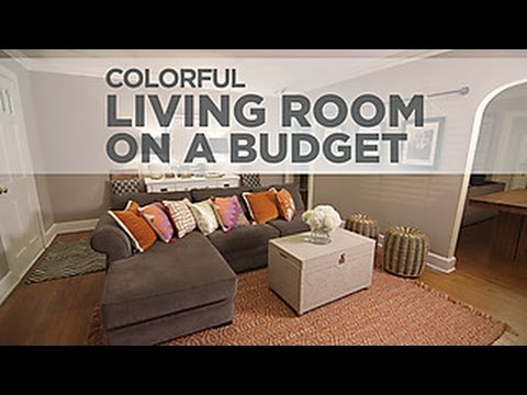 Budget Decorating a Sophisticated Living Room