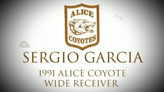 🏈Alice Coyote Football 1991 - Sergio Garcia