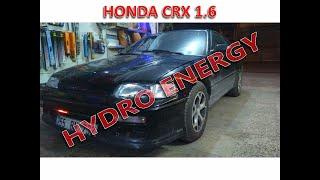 Honda CRX 1.6 hidrojen yakıt sistem montajı